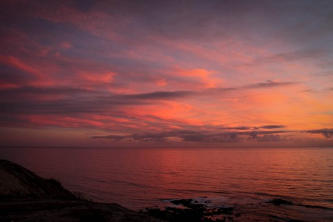Photos des ciels vue de Sao Bernardino, Peniche, Portugal