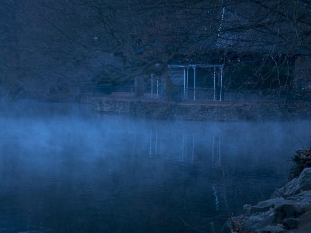 Brumes sur le Lac Tête d'or