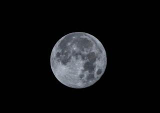 Pleine lune nature, sans fards ni nuages