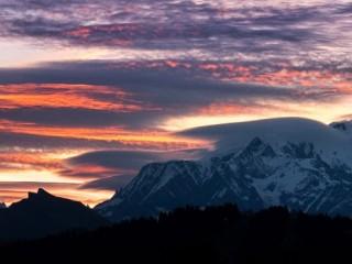 Ciels et Mont Blanc