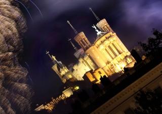 Feux d'artifice Lyon, 14 Juillet 2014